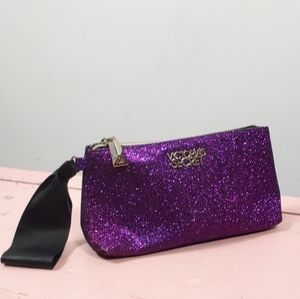 Victoria Secret Purple Cosmetic Pouch Bag